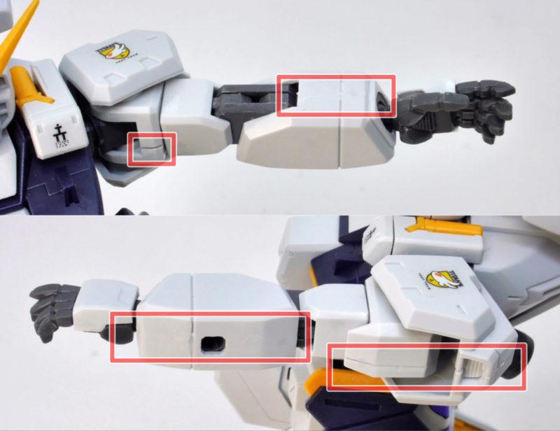 HGUC TR-1ヘイズル改のガンプラレビュー画像です