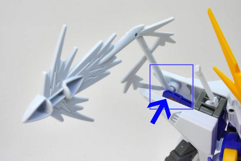 BB戦士クスィーガンダムのガンプラレビュー画像です