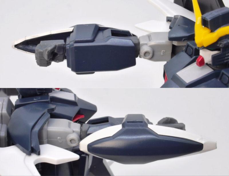 ガンダムデスサイズヘルカスタムのガンプラレビュー画像です