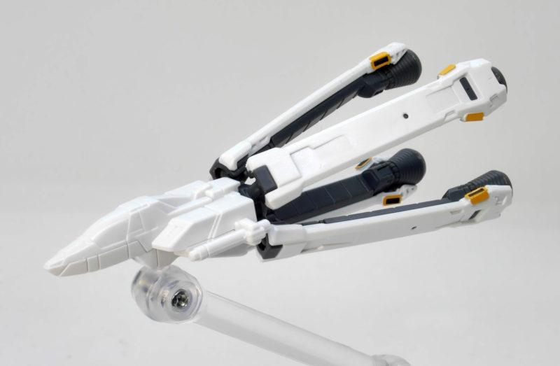 HGUCクロスボーンガンダムX1のコア・ファイターのガンプラ画像です