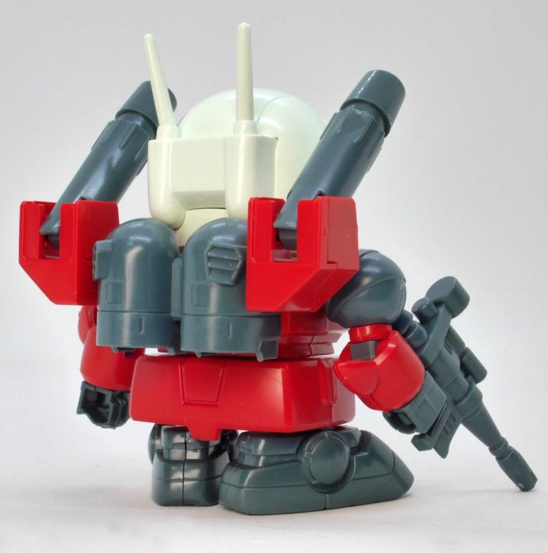 BB戦士225ガンキャノンのガンプラレビュー画像です