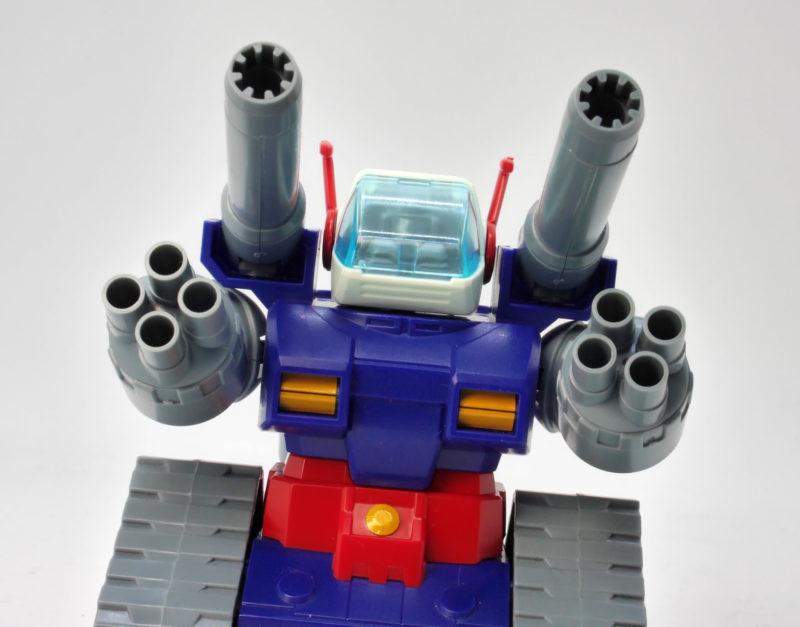 BB戦士ガンタンクのガンプラレビュー画像です