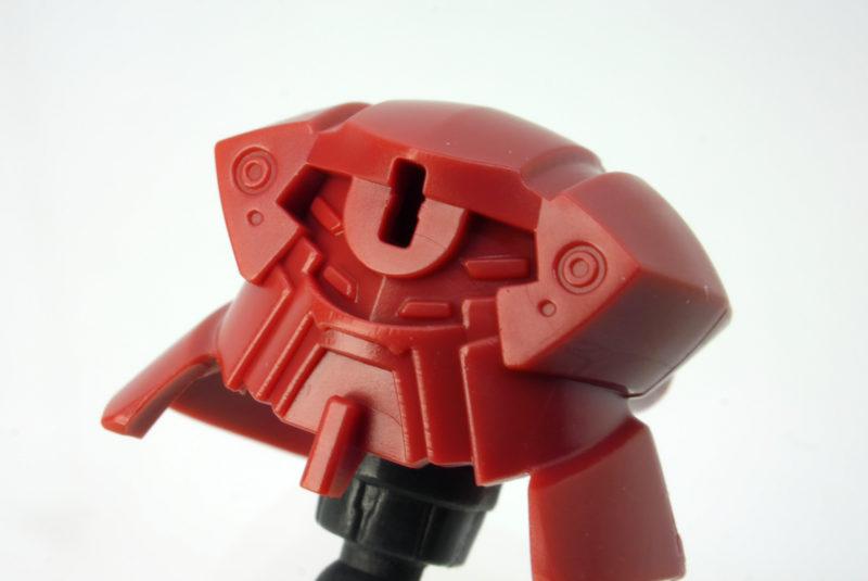 HGミスター・ブシドー専用アヘッドのガンプラレビュー画像です