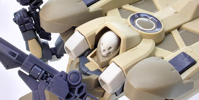 HG百里のガンプラレビュー画像です