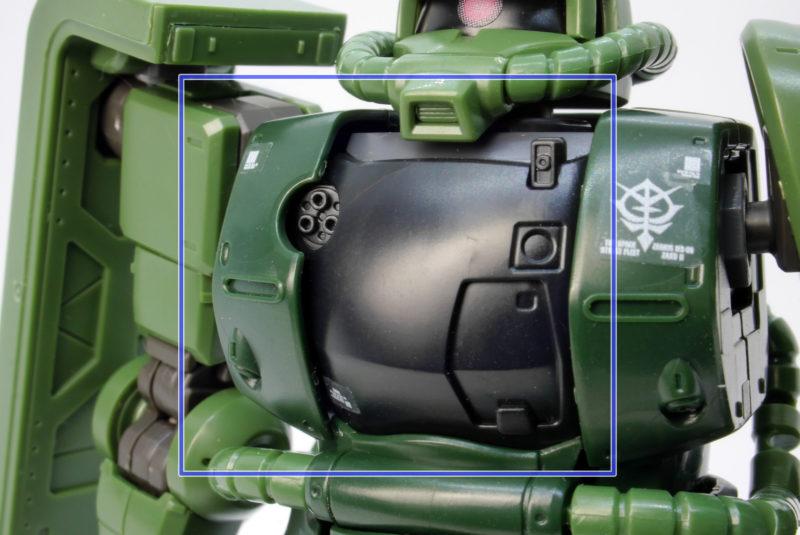 HG ザクII C-6/R6型のガンプラレビュー画像です