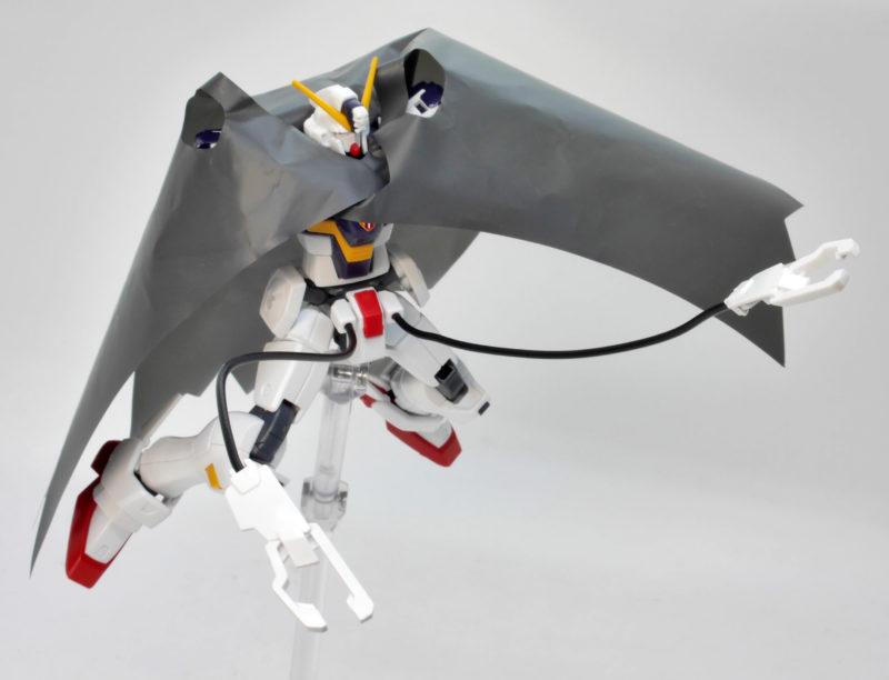 HGUCクロスボーンガンダムX1改のガンプラレビュー画像です