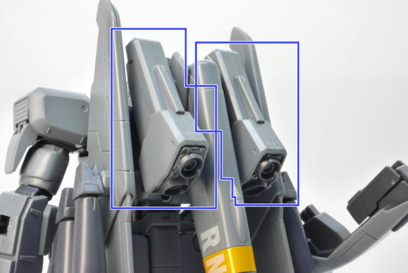 HGUCゼータプラスC1のガンプラレビュー画像です