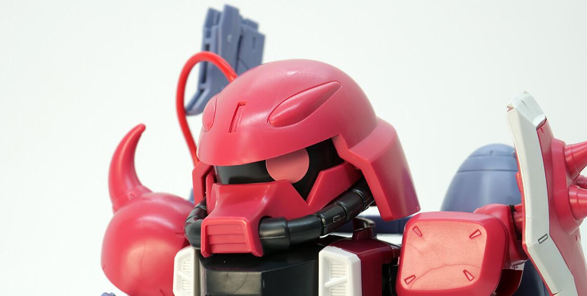 BB戦士281 ガナーザクウォーリア(ルナマリア・ホーク専用機)のガンプラレビュー画像です