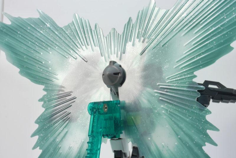 HGオーガンダムのガンプラレビュー画像です