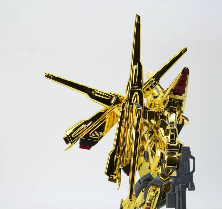 HGシラヌイアカツキガンダムのガンプラレビュー画像です