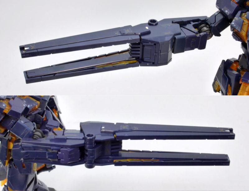 RG 拡張ユニット アームド・アーマーVN/BSのガンプラレビュー画像です