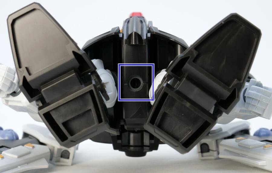 BB戦士ストライクノワールガンダムのガンプラレビュー画像です