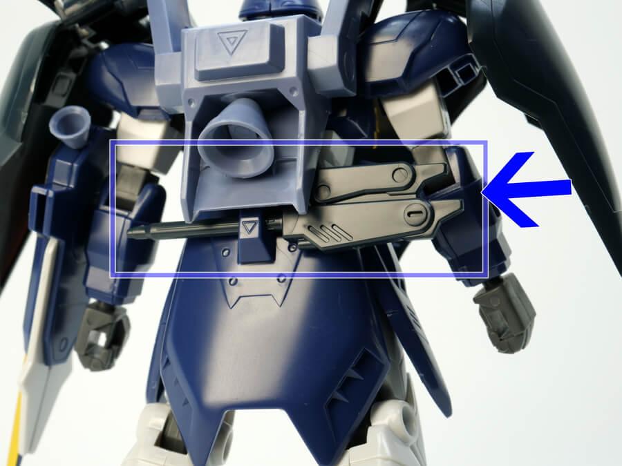 1/144ガンダムデスサイズヘルのTV版のガンプラレビュー画像です