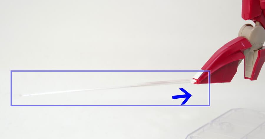 HGアルケーガンダムのガンプラレビュー画像です