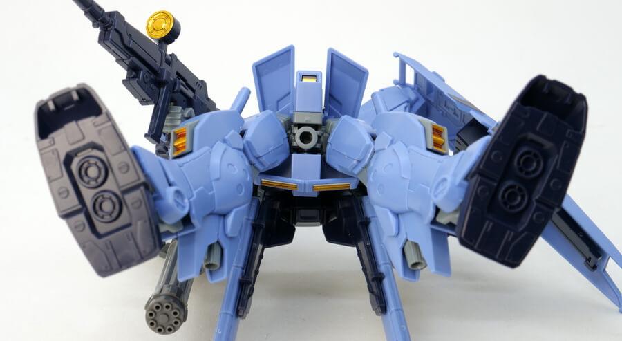 HGUCペイルライダー(空間戦仕様)のガンプラレビュー画像です