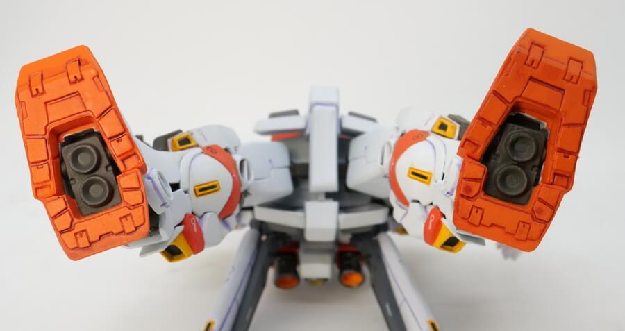 ガンダム5号機のGFFフィギュア画像です
