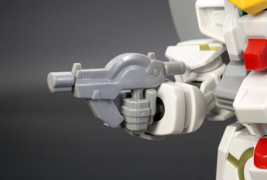 BB戦士スターゲイザーガンダムのガンプラレビュー画像です