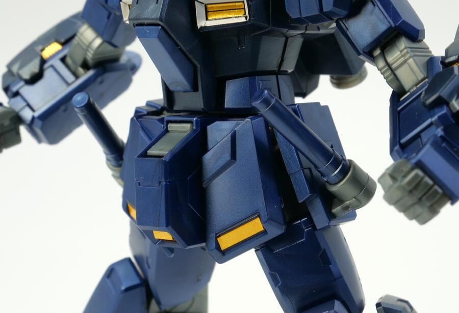 HGUCペイルライダー Limited Metallic Verのガンプラレビュー画像です