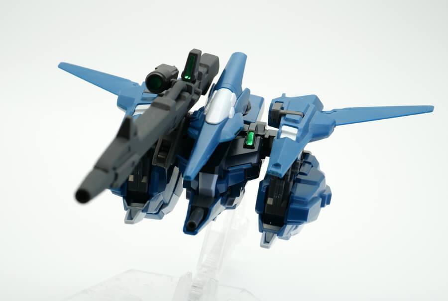 HGUCリゼル(隊長機)のガンプラレビュー画像です