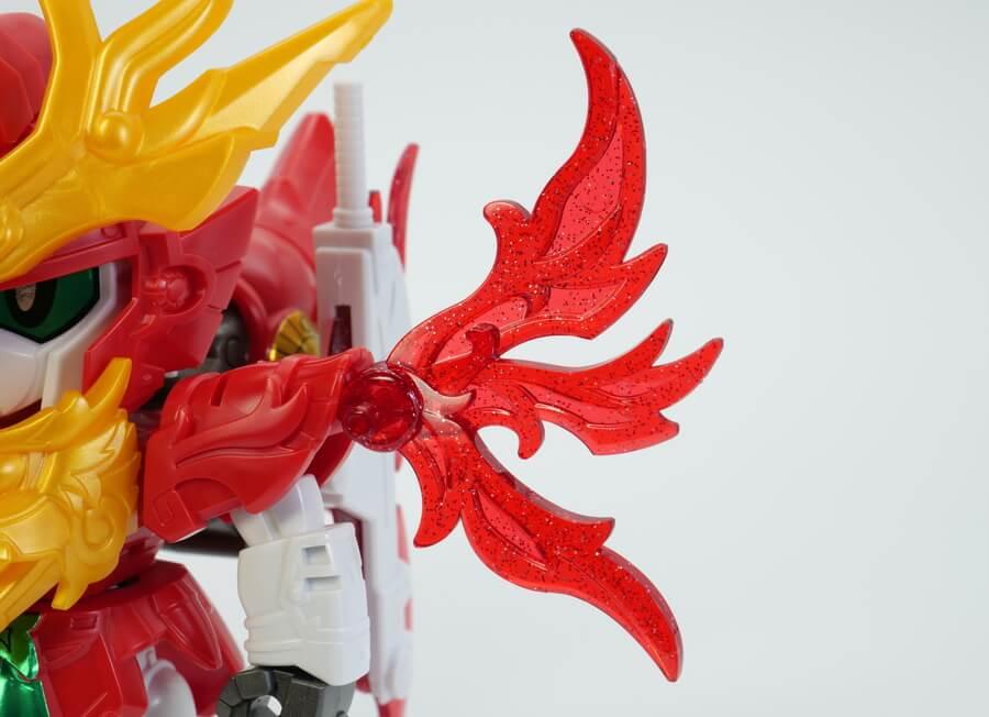 姜維ガンダムF91(キョウイガンダムF91)のガンプラレビュー画像です