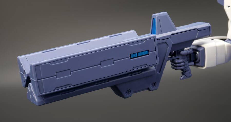 MG ガンダムF90用 ミッションパック Eタイプのガンプラレビュー画像です
