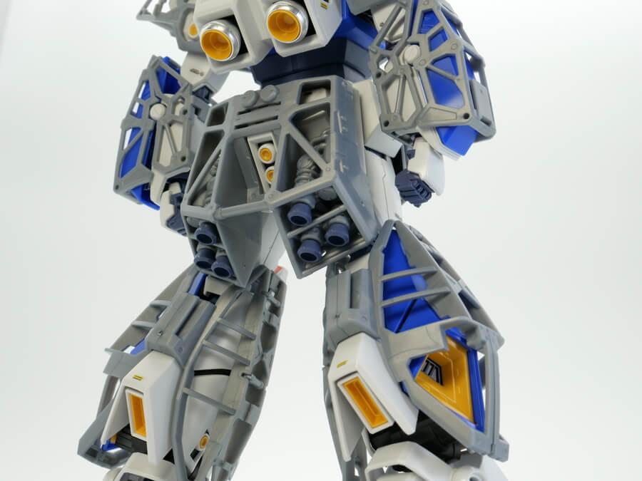 MGガンダムNT-1 Ver.02 アレックスのガンプラレビュー画像です