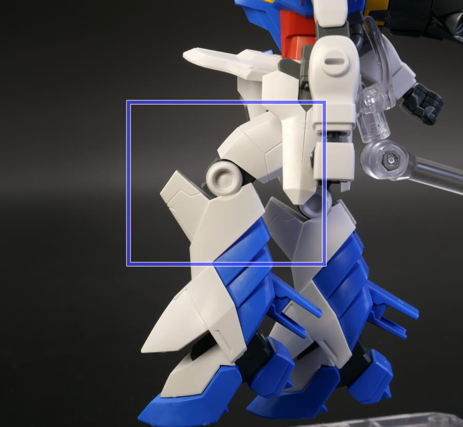 HGドレッドノートガンダム(Xアストレイ)のガンプラレビュー画像です