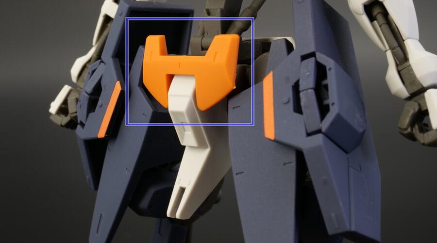 HGユーゴーのガンプラレビュー画像です