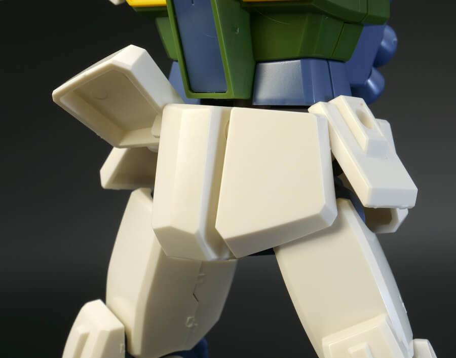 HGUCジムII(エゥーゴカラーVer.)のガンプラレビュー画像です