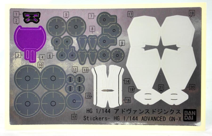 HGアドヴァンスドジンクス(デボラ機)のガンプラレビュー画像です