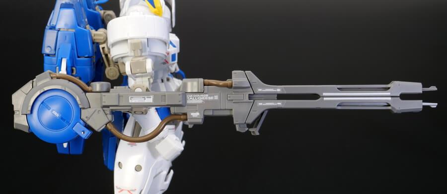RGトールギスIII(トールギス3)のガンプラレビュー画像です