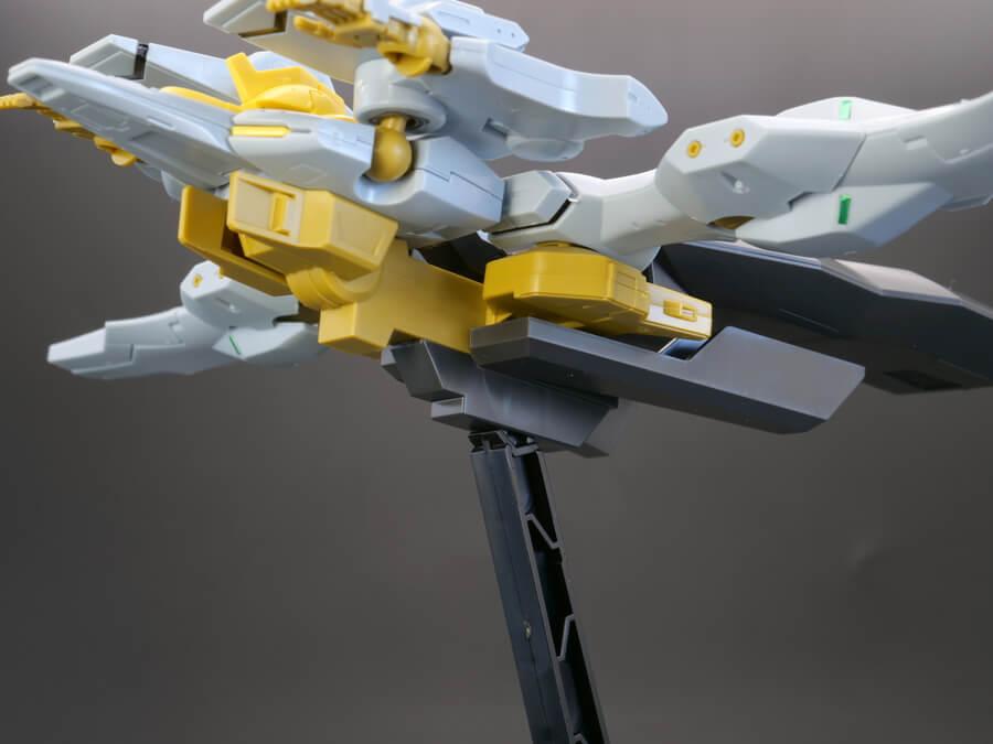 HGエルフ・ブルック(量産機)のガンプラレビュー画像です