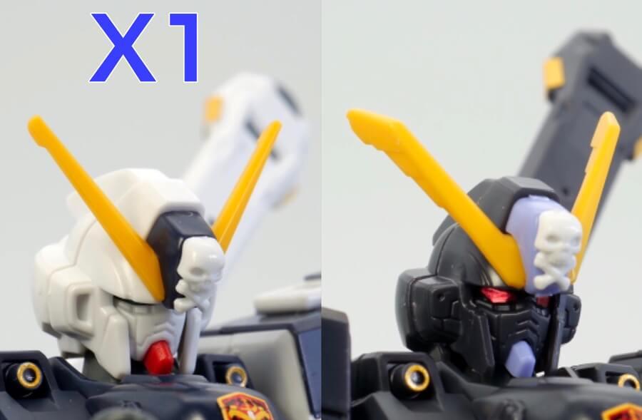 HGUCクロスボーン・ガンダムX2のガンプラレビュー画像です