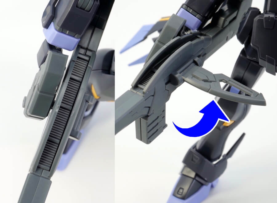 HGUCクロスボーン・ガンダムX2改のガンプラレビュー画像です