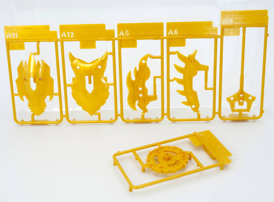 黄蓋グフ(コウガイグフ)のガンプラレビュー画像です