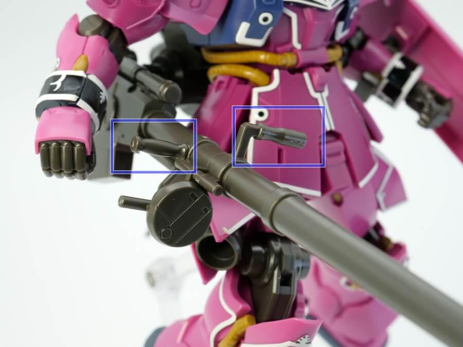 HGUC ギラ・ズール(アンジェロ・ザウパー専用機)のガンプラレビュー画像です