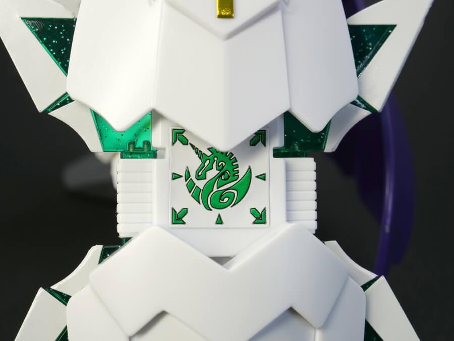 騎士ユニコーンガンダムのガンプラレビュー画像です