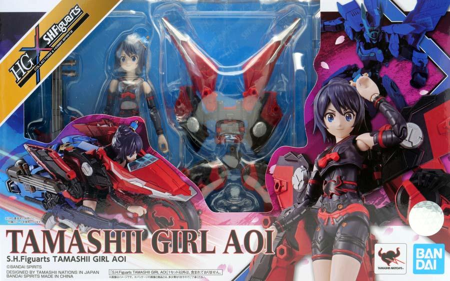 TAMASHII GIRL AOIの画像です