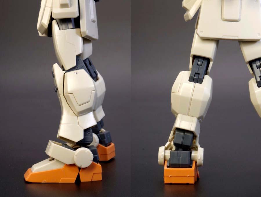 HGUC陸戦型ジムの脚部の画像です