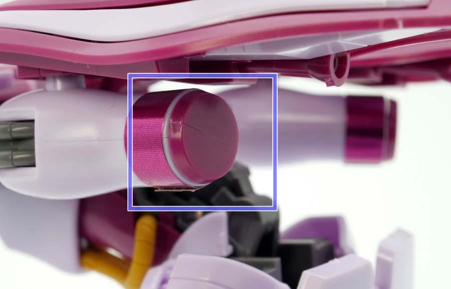 HGUCガザC(ハマーン・カーン専用機)のガンプラレビュー画像です