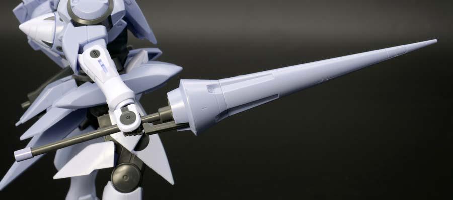 HGジンクス3(連邦軍型)のガンプラレビュー画像です