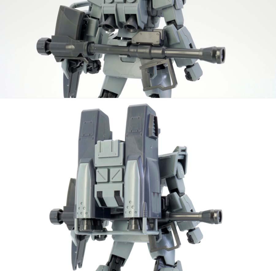 HGUC 陸戦型ジム (スレイヴ・レイス隊仕様)のガンプラレビュー画像です