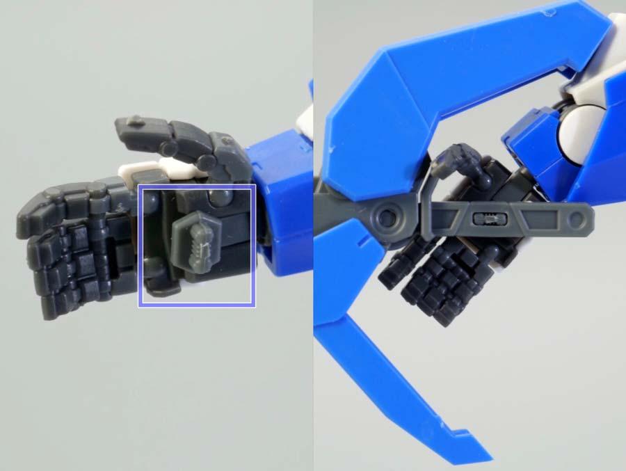 RGダブルオークアンタのガンプラレビュー画像です