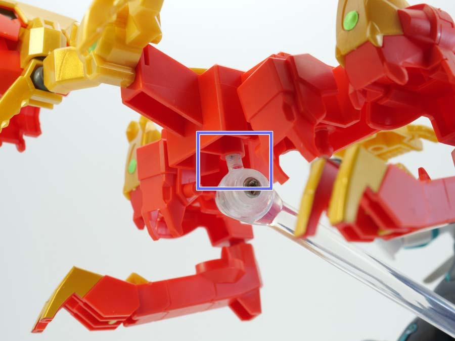 SDBD:R アヴァランチレックスバスターのガンプラレビュー画像です