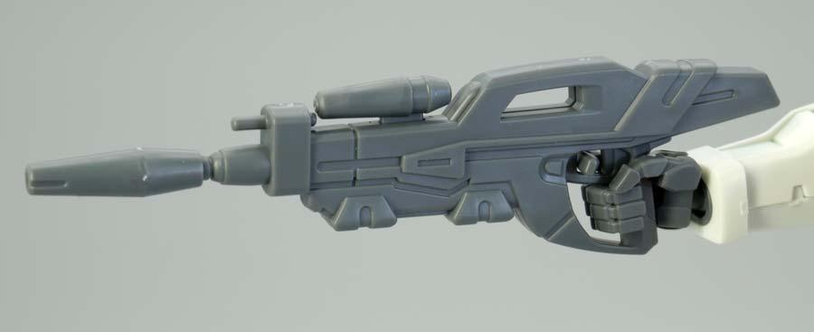HGガンダムG-セルフ(大気圏用パック装備型)のガンプラレビュー画像です
