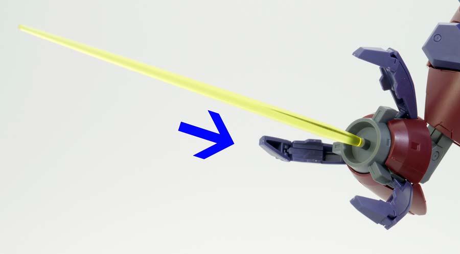 HGガンダムGP-羅刹のガンプラレビュー画像です