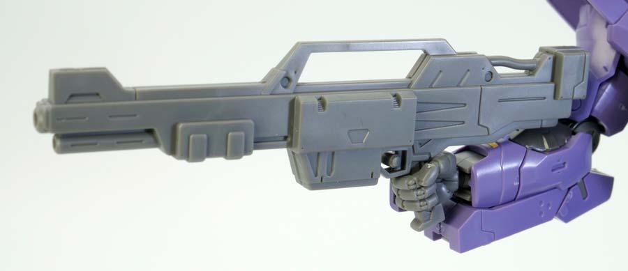 HGバルギルのビーム・ライフルのガンプラレビュー画像です