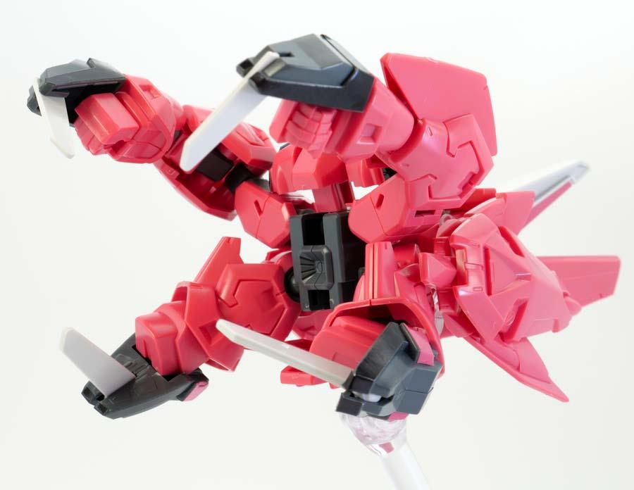 BB戦士イージスガンダムのガンプラレビュー画像です