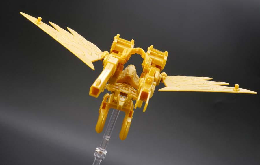 LEGENDBB武者飛駆鳥のガンプラレビュー画像です