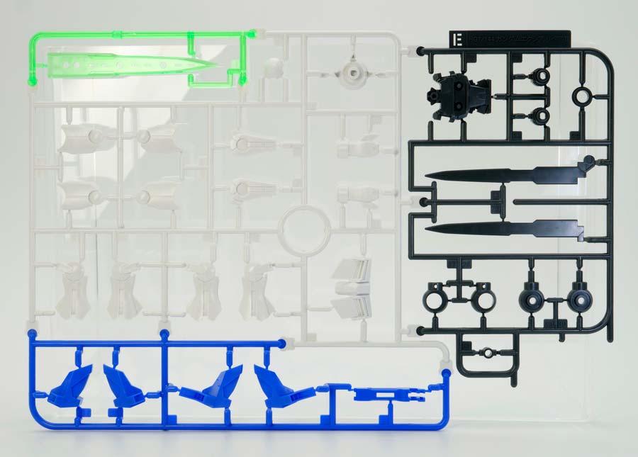 HGガンダムエクシア リペアIIのガンプラレビュー画像です